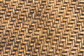 Bamboo woven background plate can use as Stock Photography