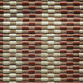 Bamboo woven mat texture Royalty Free Stock Photo