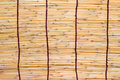 Bambu blind Stock Image