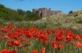 Bamburgh castle Royalty Free Stock Photo