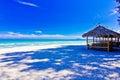 Ban krut beack a beach is beautiful the green sea the sky is blue Stock Photo