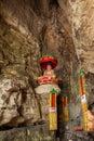 Banan district chongqing city east river springs five cloth buddha buddha cave Royalty Free Stock Photos