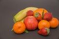Banana, Apple, Orange,strawber...