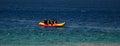 Banana Boat Royalty Free Stock Photo