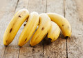 Banana close up Royalty Free Stock Photo