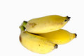 Banana isolated over white background Royalty Free Stock Photo