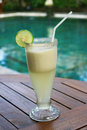 Banana juice Royalty Free Stock Image