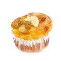 Banana nut muffin Royalty Free Stock Photo