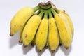 Banana pisangawak banana nov good for health Stock Photography
