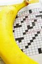 Banana puzzle Royalty Free Stock Photo