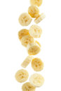 Banana Slices Royalty Free Stock Photo