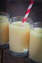 Banana smoothies Royalty Free Stock Photo