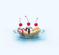 Banana split Royalty Free Stock Photos