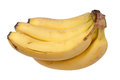 Banana on a white background Royalty Free Stock Photography