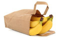 Bananas in a Bag Royalty Free Stock Photography