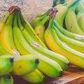 Bananas, Bunch, Colors, Delicious,