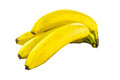 Bananas bunch of isolated on a white background Stock Photography