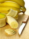 Bananas, close up Stock Photography