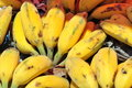 Bananas market Royalty Free Stock Photo
