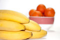 Bananas With Tangerines In The...