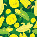 Banane Pattern_eps sans joint Photo stock