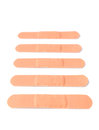 Bandaids plasters isolated on a white background Royalty Free Stock Image