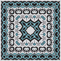 Bandana pattern vector illustration mandala Stock Photos