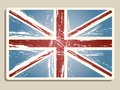 Bandeira de Londres do vintage Foto de Stock Royalty Free