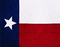 Bandeira do estado de Texas Foto de Stock Royalty Free
