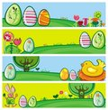 Bandeiras de Easter Foto de Stock Royalty Free