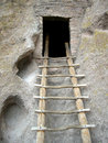 Bandelier Ruins Stock Photography