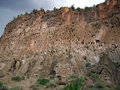 Bandelier Ruins Cliff Stock Photos