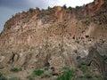 Bandelier Ruins Cliff Stock Photos