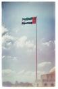 Bandera de los uae del vintage Imágenes de archivo libres de regalías