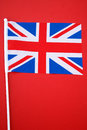 Bandiera di Union Jack Immagine Stock
