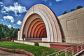 Bandshell on a summer day Stock Image