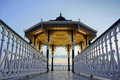 Bandstand in brighton Stock Photography
