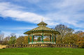 Bandstand, Greenhead Park, Huddersfield, Yorkshire, England Royalty Free Stock Photo