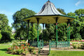 Bandstand in the park Royalty Free Stock Photo