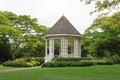Bandstand in Singapore Botanic Gardens