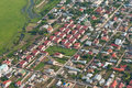 Baneasa neighborhood top view Royalty Free Stock Photos