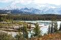 Banff national park alberta canada in Stock Photos