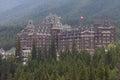 Banff Spring Hotel Royalty Free Stock Photo
