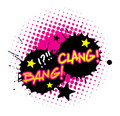 Bang and Clang Royalty Free Stock Image