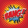 BANG! comic word Royalty Free Stock Photo