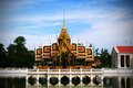 Bang-Pa-In palace Royalty Free Stock Images
