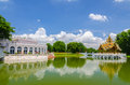 Bang pa in palace ayuthaya thailand is summer located province Royalty Free Stock Images