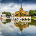 Bang pa in palace thailand Stock Image