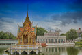 Bang Pa Palace Thailand Royalty Free Stock Photo