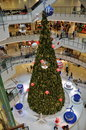 Bangk k thailand christmas tree at central world an immense fills the atrium upscale shopping center in bangkok Stock Photo